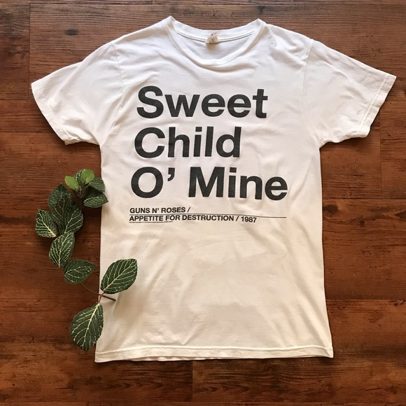 e19cfb954986 Bay Island Tops | Guns N Roses Sweet Child O Mine Shirt | Poshmark